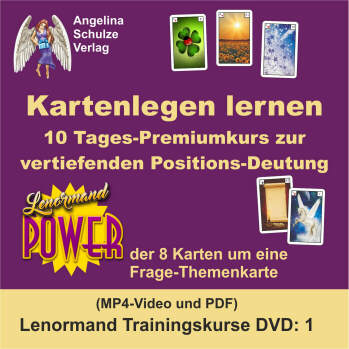 Kartenlegen lernen 10Tages-Challengekurs - Lenormand Trainingskurs 1