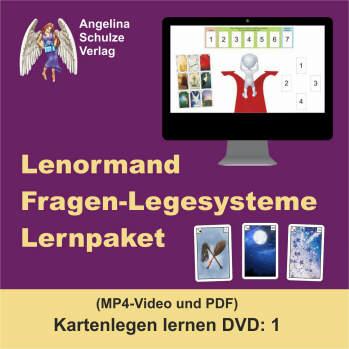 Lenormand Fragen Legesysteme Lernpaket - Kartenlegen lernen 1