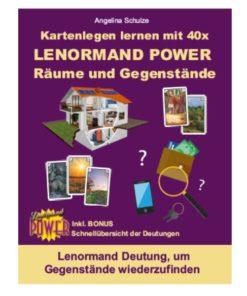 Lenormand Deutung Gegenstaende weiderfinden - Lenormand Power Buch