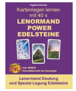Lenormand Deutung Legesystem Edelsteine - Lenormand Power Buch