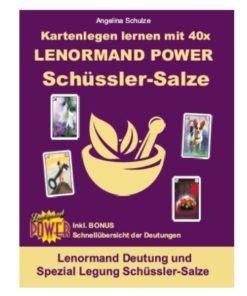 Lenormand Deutung Legesystem Schuessler Salze - Lenormand Power Buch