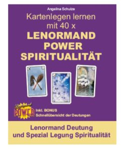 Lenormand Deutung Legesystem Spiritualitaet - Lenormand Power Buch