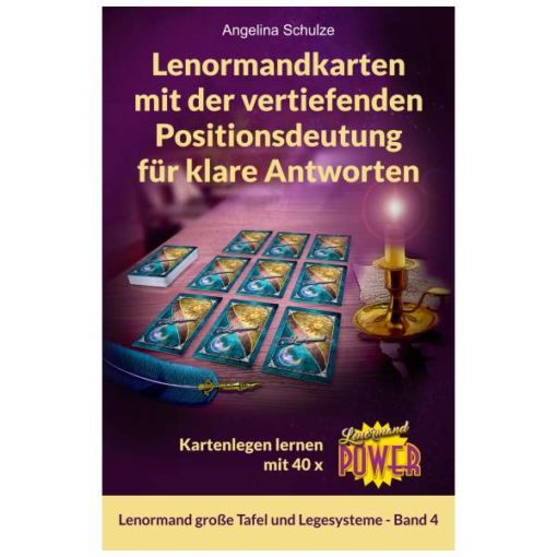 Lenormand Power vertiefende Deutung Lenormandbuch