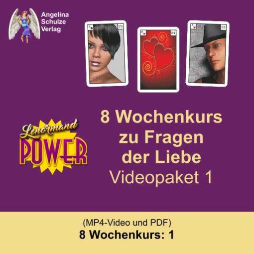 Lenormand Power 8 Wochenkurs Liebe deuten Videopaket1