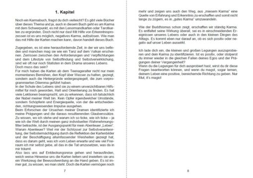 Kartenlegen lernen Karma deuten mit Lenormandkarten - Seite 7 und 8-min