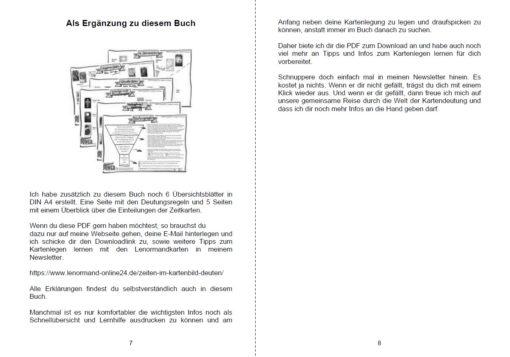 Lenormand Zeiten deuten - Seite 7 und 8