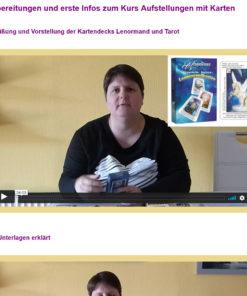 Onlinekurs Aufstellungen mit Karten - Video Ausschnitt